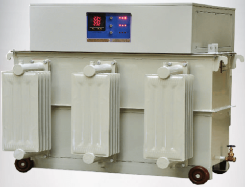 450KVA Three Phase Oil Cooled Voltage Stabilizer