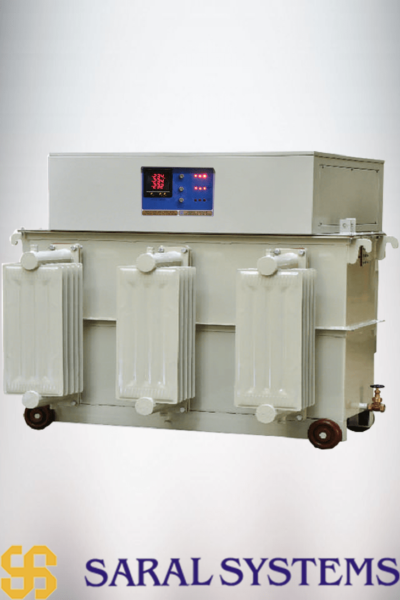 100KVA Three Phase Oil Cooled Voltage Stabilizer